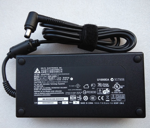 Delta 230W 19.5V 11.8A AC Adapter+Cord for MSI GT72 2QD-288XPL Notebook