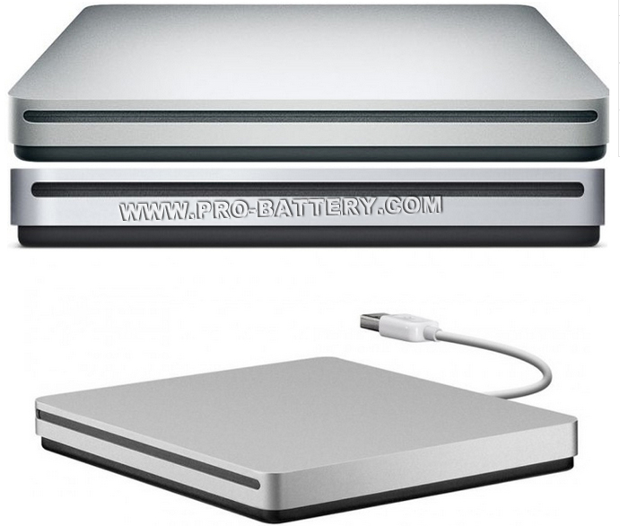 for Apple iBook G4-M9388LL/A USB Slim Slot-in DVD RW Burner Superdrive