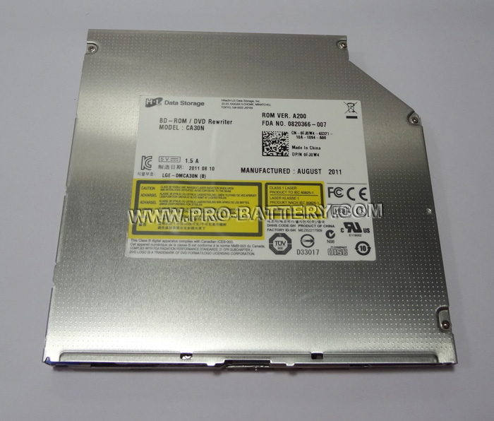 For Dell Alienware M15x M17x M18x R1 R2 R3 HL CA30N Blu-ray BD-ROM Combo Drive