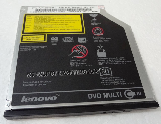 Genuine Lenovo/IBM Thinkpad T60 T60P T61 Z60 DVD Burner drive