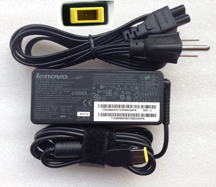 65W Genuine OEM Lenovo ThinkPad E431 Series AC Adapter Power Supply Charger