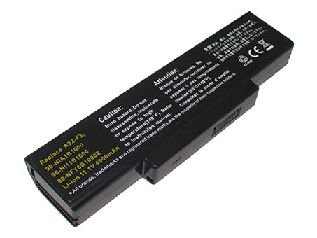 Battery for ASUS A9 F2 F3 Z53 Series