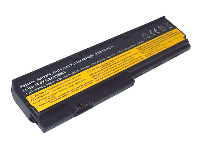 Replacement Battery for Lenovo ThinkPad X200-7454 X200-7455