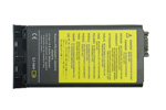Battery for 3600mAh IBM ThinkPad i1400 i1500 02K6576