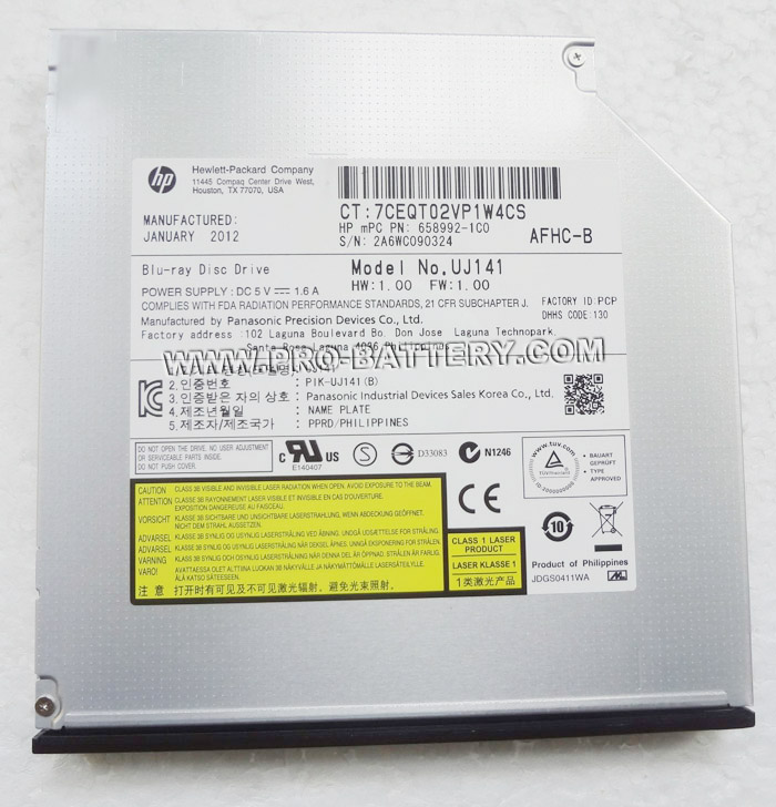 HP Blu-ray BD-ROM Drive Panasonic UJ-141 DVD/RW Drive Best Price