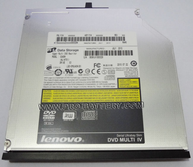 Genuine DVD RW Burner Drive Lenovo IBM ThinkPad W500 T400