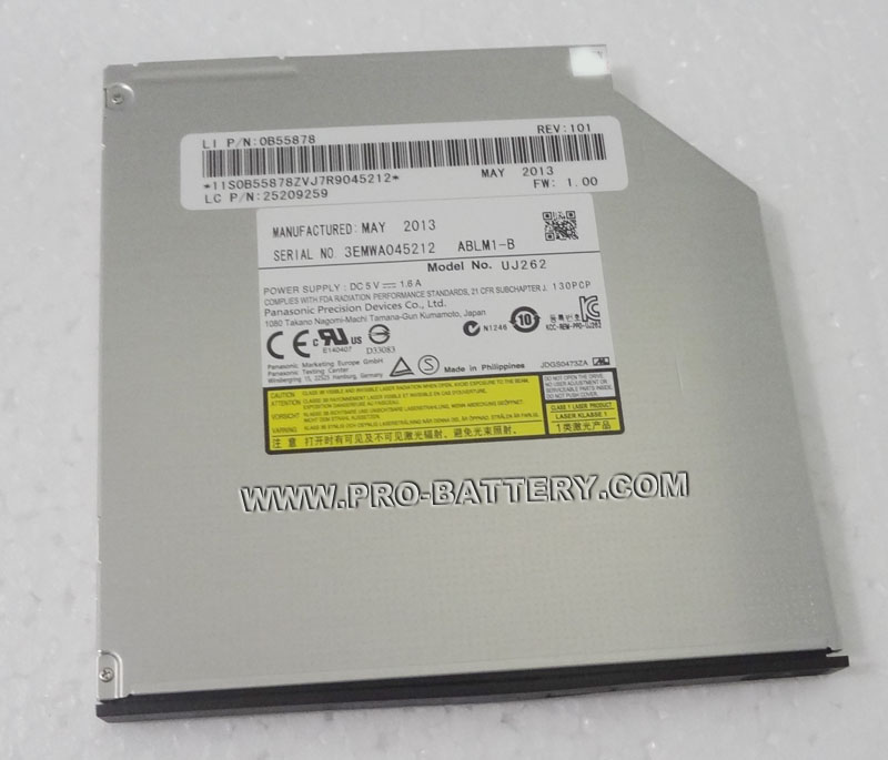 Lenovo ThinkPad W540 Workstation BD-R BD-RE Blu-Ray Writer Burner Optical Drive